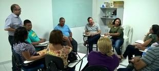 Ministério diaconal realiza treinamento interno